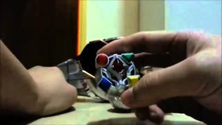 Камен Райдер майстер іграшка огляд-Частина 9:майстер ДХ кільце кіно Taisan (фільм Війна) набір