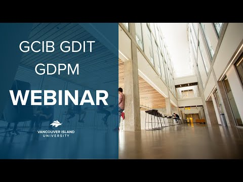 GCIB GDIT GDPM - Graduate Programs in Business Webinar