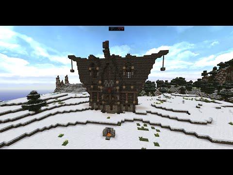 Minecraft Herbstlande Wikinger Haus Teil Und Gelaber YouTube - Minecraft wikinger hauser