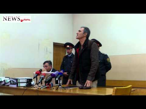 Famous Armenian Artist Vardan Petrosyan speaks in the Court