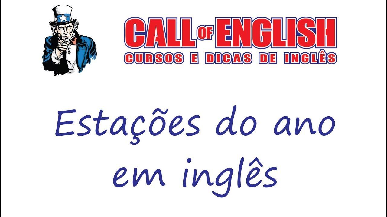 Frases Em Inglês: Estações Do Ano Em Inglês
