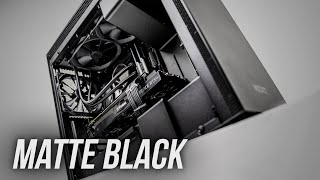 Download lagu A MATTE BLACK Gaming PC from NZXT BLD MP3