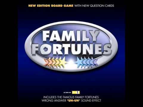 Family Fortunes Board Game (Buzzer)