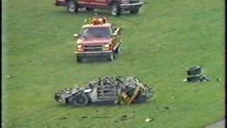 Rusty Wallace Talladega Crash And Crazy Finish ORIGINAL COMMENTARY!!
