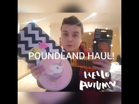 POUNDLAND SEPTEMBER 2017 HAUL!