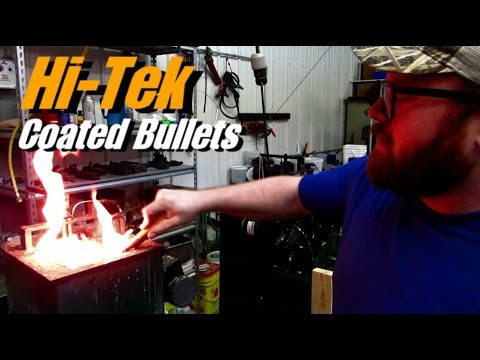How Bullet Casting and Hi-Tek Supercoat is Done - Rex Reviews