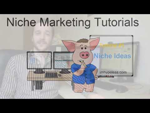 How to Find Fresh Niche Ideas - Niche Marketing Tutorial #1