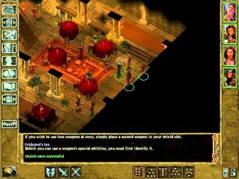 Let's Play the Baldur's Gate Saga - Spider Slaying, Marl, and Tiax - 15