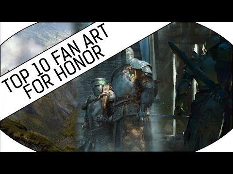 TOP 10 FAN ART - For Honor! - 동영상