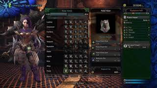 I crafted every piece of armor in PC Monster Hunter World