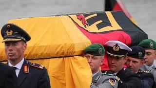 Memorial, funeral held for former German leader Kohl