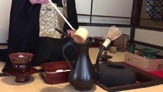 一年僅一次亮相 京都建仁寺 『四頭茶会』示範:靈源院