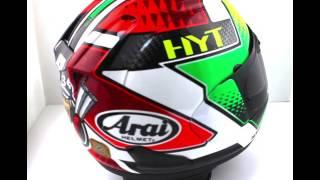 arai rx 7v motorcycle helmet giugliano replica thevisorshop