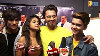 TIK TOK Star Lucky Dancer With Gang At Danish Alfaaz New Song Mere Sapno Mei Launch