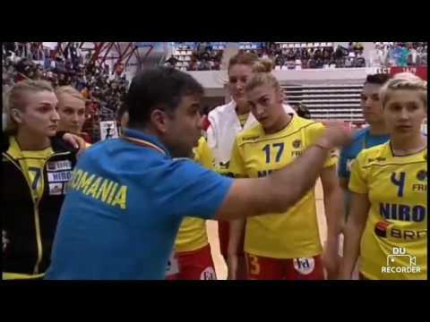 Handbal F. : Romania-Spania Repriza I - 19 Martie 2017