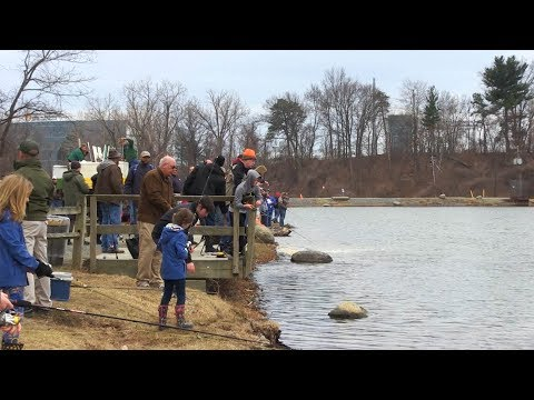 Fish Stocking and Free Fishing at Six Mile Waterworks