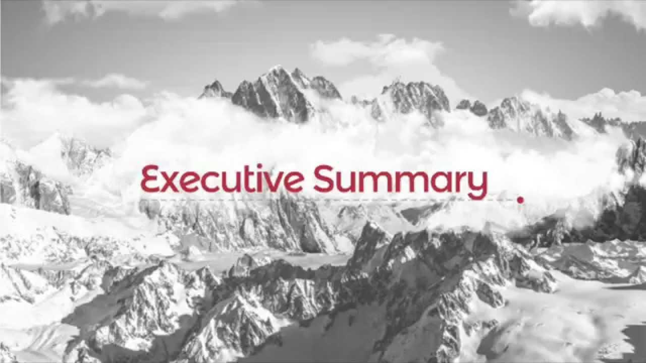 Dissertation executive summary