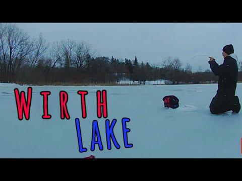 Ice Fishing Minneapolis - Wirth Lake