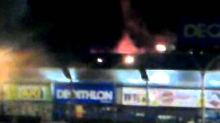 Incendio no Retail Park-Portimão-2