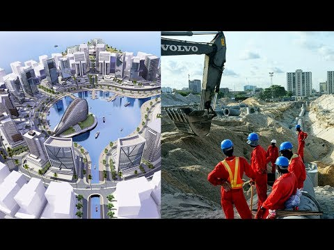 African Mega Projects ep.1 | The African Shanghai, Eko Atlantic City in Nigeria