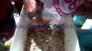 pembuatan sosis ikan xii ap 1 (smk n kalibaru)