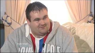 ITV Anglia News Norwich COPD & Aylsham Churchill