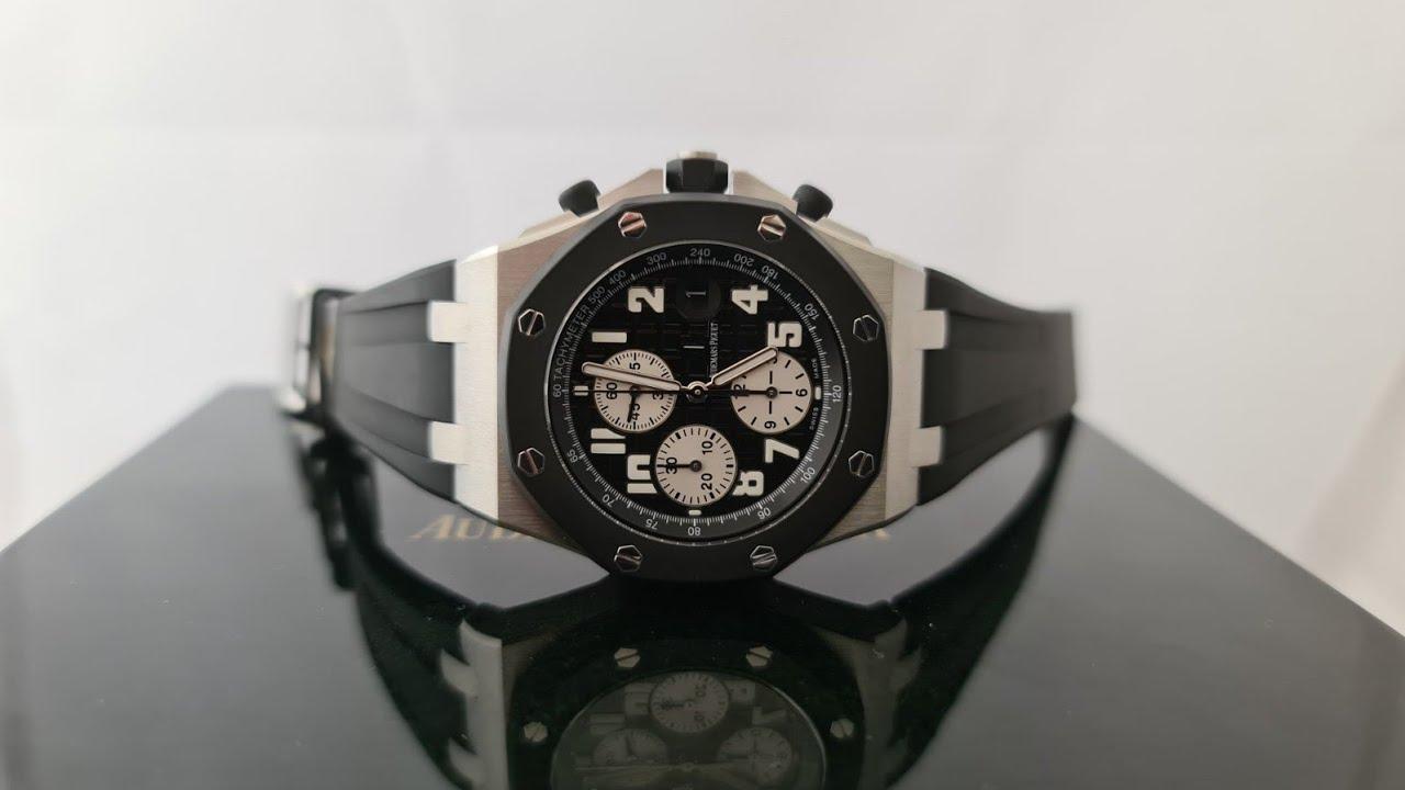 Мужские часы Audemars Piguet Royal Oak Offshore Chronograph 25940SK.OO.D002CA.01 обзор!