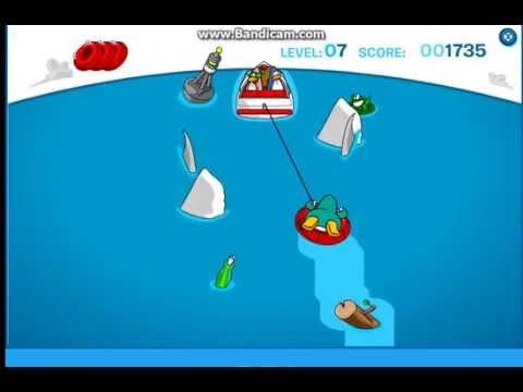 club penguin hydro hopper game play