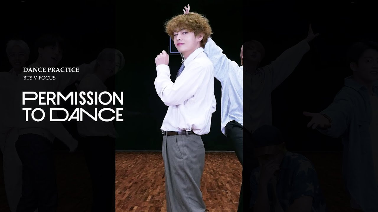 'Permission to Dance' Dance Practice V focus (세로캠 편집) / BTS V(태형) / 방탄소년단 뷔