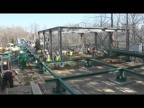 Busch Gardens Williamsburg Installs Final Piece Of