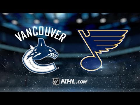 Vancouver Canucks vs St. Louis Blues | Dec.09, 2018 | Game Highlights | NHL 2018/19 | Обзор матча