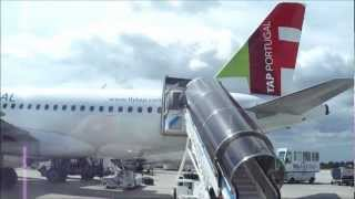 Voo Tap a319 Lisboa To Paris Orly Video By GilsonProTV