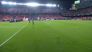 Calentamiento Valencia CF vs Sevilla FC