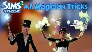 The Sims 3 Showtime All Magician