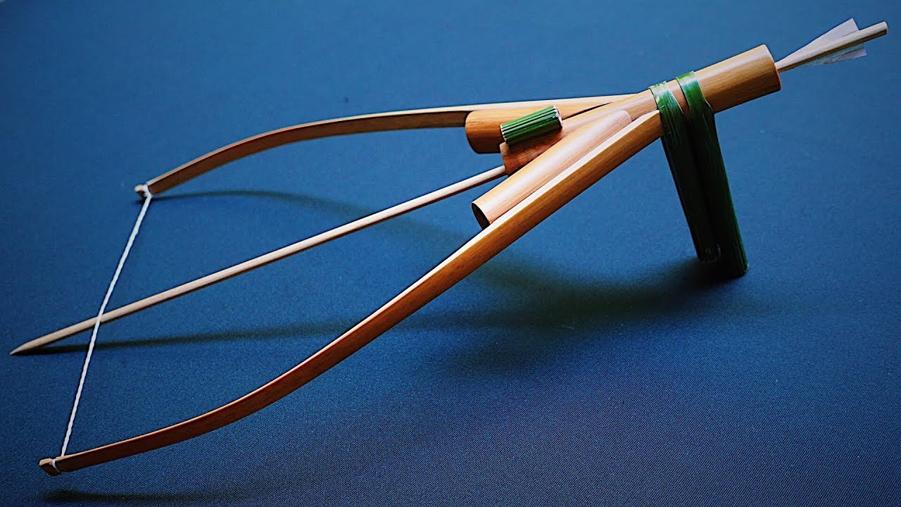 """The """"Cupid's Harp"""" Bamboo Sling Bow 