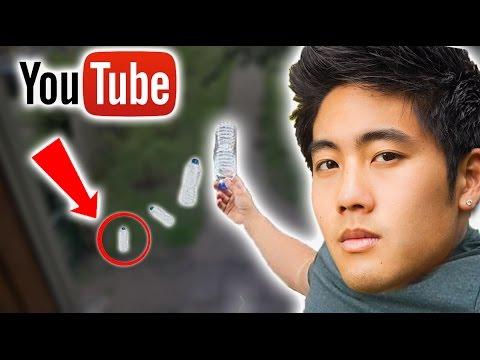 Top 5 LUCKIEST YouTuber Water Bottle FLIPS