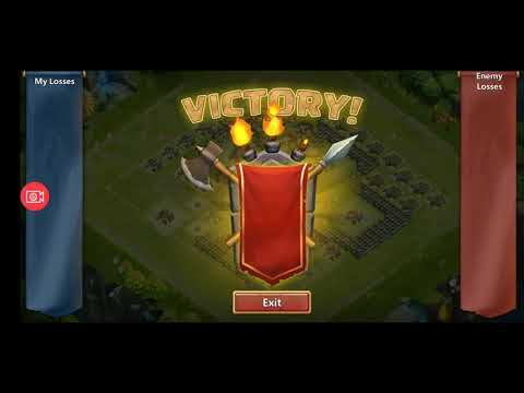 Castle Clash - Zephyrica Is Immortal! Best Offensive Setting! :D