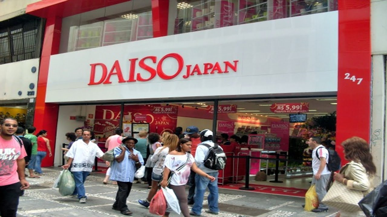 Resultado de imagem para Rede de lojas Daiso vem crescendo no Brasil