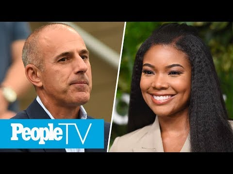 Matt Lauer Breaks Silence To Address Allegations, Gabrielle Union On Cosby Verdict| LIVE | PeopleTV