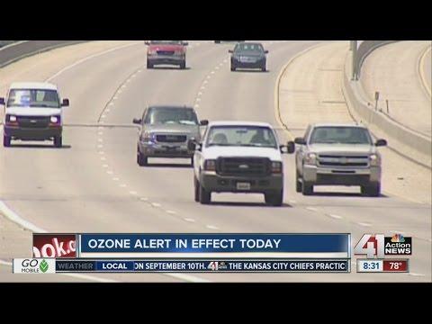 Ozone alert in effect for Saturday