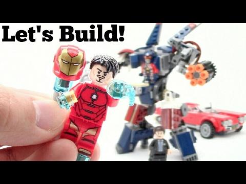 LEGO Iron Man: Detroit Steel Strikes 76077 - Let's Build!