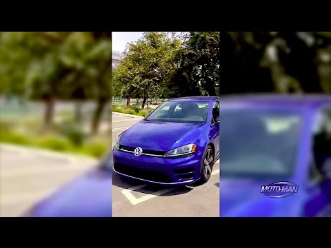 2015 VW Golf R DSG FREESTYLIN with MotoManTV Q&A & Show Updates