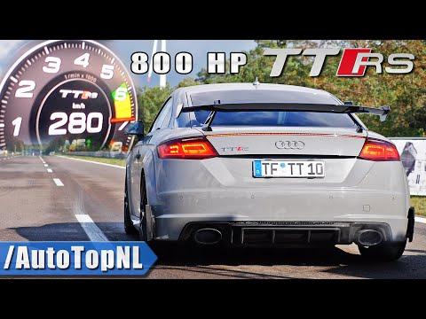 800HP Audi TT RS *HUGE TURBO* 0-270KMH 1/2 MILE by AutoTopNL