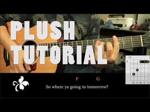 "Como tocar ""Plush"" de Stone Temple Pilots - Tutorial Guitarra (HD)"