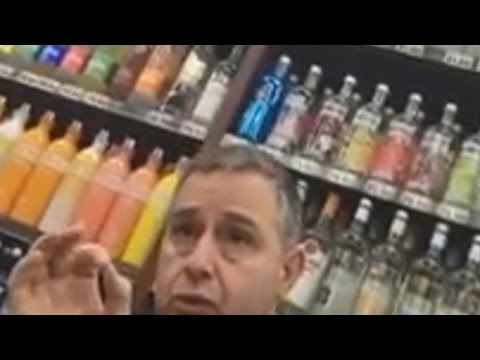 SJW confronts store owner over a window sign