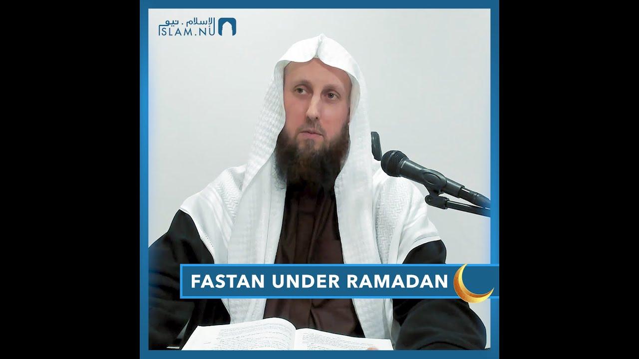 Fastan under Ramdan