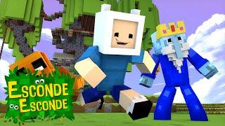 Minecraft: HORA DE AVENTURA! (Esconde-Esconde)