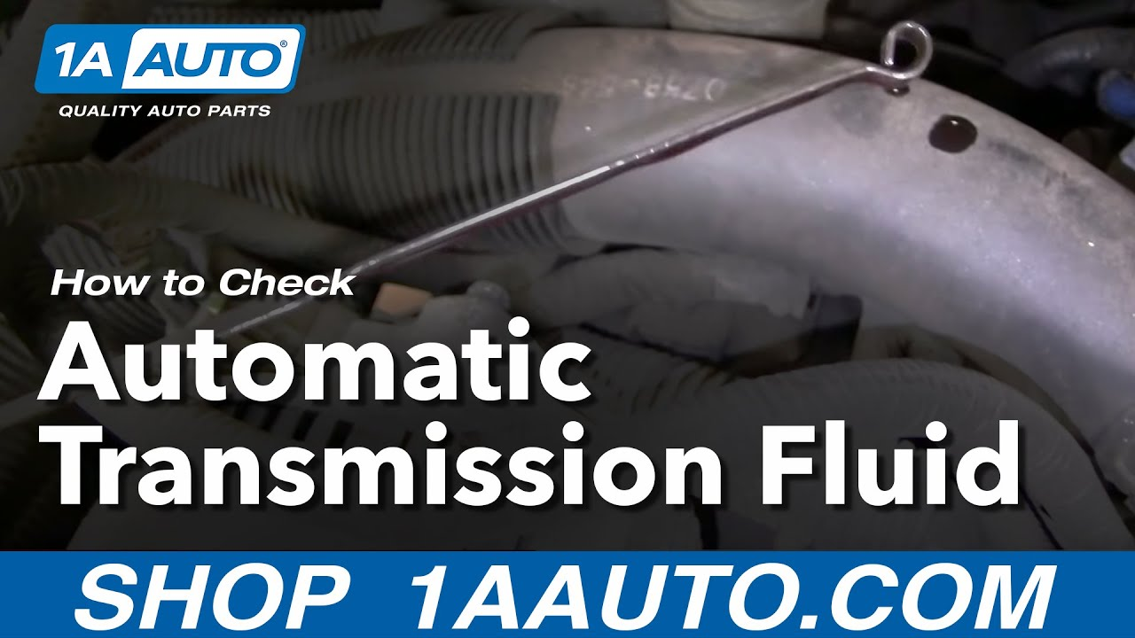 Auto Repair How Do I Check or Add Automatic Transmission Fluid to