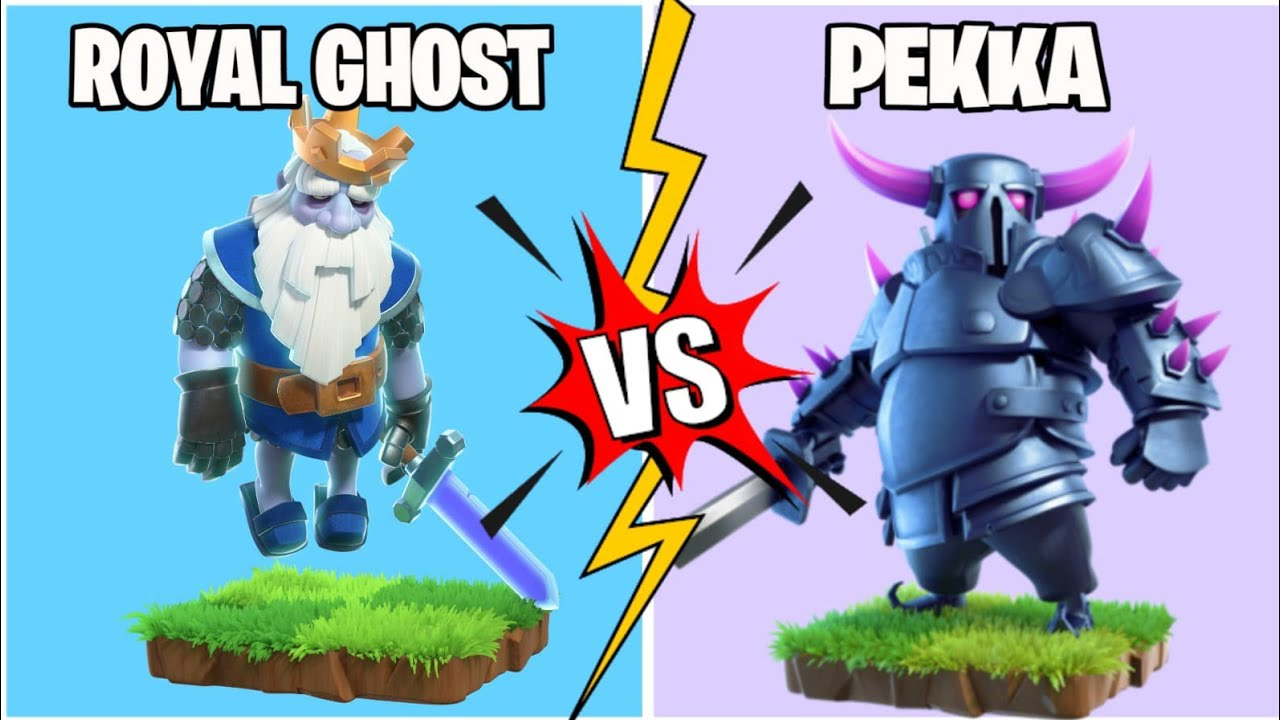 Royal Ghost Vs P.E.K.K.A In Coc | Troops Tournament | Clash Of Clans |