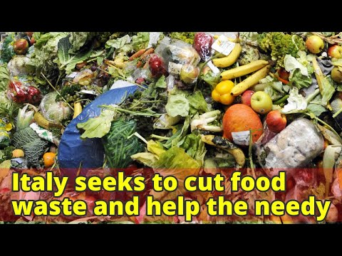 Italy seeks to cut food waste and help the needy